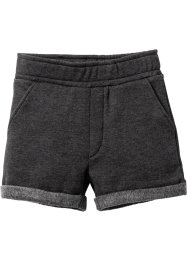 Pantalon sweat court, bpc bonprix collection, anthracite chiné