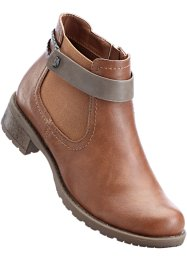 Stiefelette, bpc bonprix collection, camel/ taupe