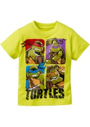 T-shirt TORTUES NINJA, Teenage Mutant Ninja Turtles, vert citron Tortues Ninja