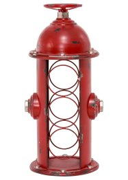 "Flaschenregal ""Hydrant"", Home Collection, rot"