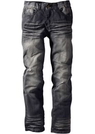 Jeans normal passform, John Baner JEANSWEAR, black stone