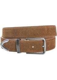 Ceinture simili cuir velours, bpc bonprix collection, cognac
