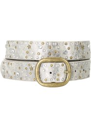 Ceinture multi-rivets, bpc bonprix collection, argenté