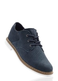 Sneaker di pelle, bpc bonprix collection, Blu mare