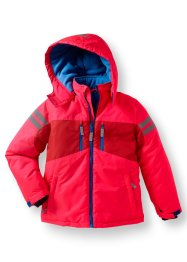 Winterfunktionsjacke, bpc bonprix collection, neon orange/azurblau
