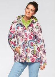 3 in 1 Funktions-Outdoorjacke mit Kapuze, bpc bonprix collection