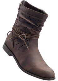 Stiefelette, bpc bonprix collection, dunkelbraun