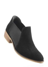 Lederslipper, bpc bonprix collection, schwarz