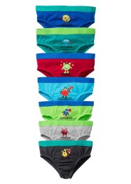Slip (7er-Pack), bpc bonprix collection, bunt