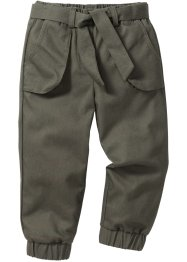 Pantalon confort, bpc bonprix collection, olive foncé