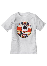 T-shirt imprimé comic, bpc bonprix collection, blanc