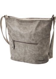 Sac bandoulière Vintage, bpc bonprix collection, gris