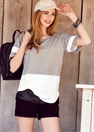 Camiseta colour block