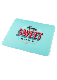 Plaque multi-usages Sweet Home, bpc living, multicolore