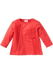 Bebek Organik Pamuklu Sweatshirt, bpc bonprix collection, mercan