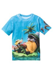 T-shirt MINIONS, Despicable Me 2, imprimé multicolore