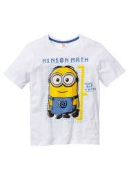 T-shirt MINIONS, Despicable Me 2, blanc