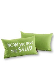"Coussin ""Now we have the salad"" (1 pièce), bpc living"