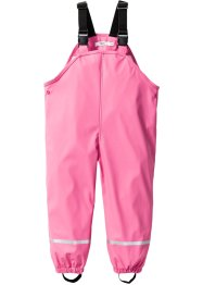 Matsch- und Regenlatzhose, bpc bonprix collection, flamingopink