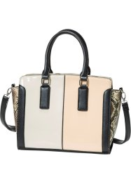 Handtasche im Materialmix, bpc bonprix collection, multi