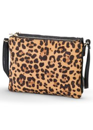 Tasche, bpc bonprix collection, schwarz/leo