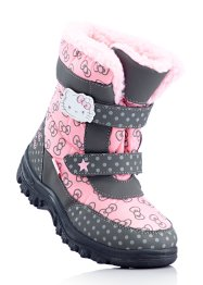 Stiefel, Hello Kitty, pink/grau