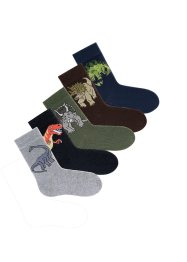 GO IN Socken (5er-Pack), GO IN, Dinomotive