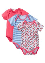 Baby Kurzarmbody (3er-Pack) (bpc bonprix collection)