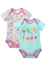 Baby Kurzarmbody (2er-Pack) (bpc bonprix collection)