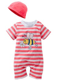 Baby Overall + Mützchen (2-tlg. Set) (bpc bonprix collection)