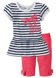 Baby Longshirt + 3/4 Leggings (2-tlg. Set) (bpc bonprix collection)