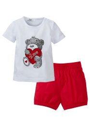 Baby T-Shirt + Shorts (2-tlg.) (bpc bonprix collection)