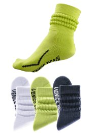 Venice Beach Schoppersocken (3er-Pack)
