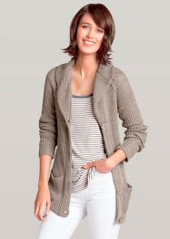 Strickjacke mit Schalkragen (bpc bonprix collection)