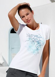 T-Shirt mit Blumendruck (bpc bonprix collection)