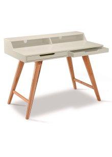 Schreibtisch, Home Collection, natur/weiss