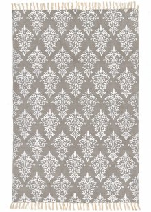 "Teppich ""Ornament"", Home Collection, grau/silber"
