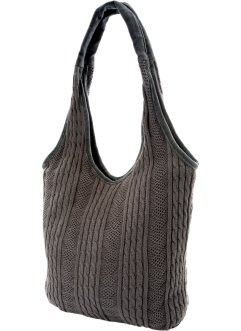 "Stricktasche ""Marie"", bpc bonprix collection, grau"