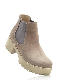 Lederchelseaboot, RAINBOW, grau