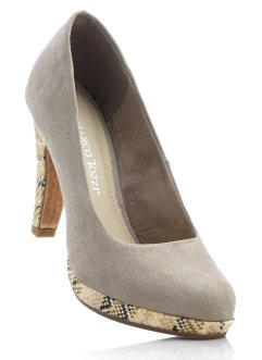 Pumps, Marco Tozzi, taupe