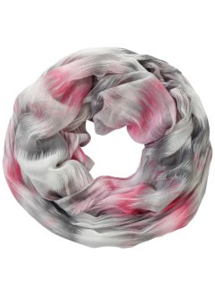 Loop bunt, bpc bonprix collection, pink/weiß/grau