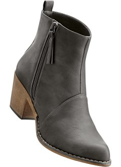 Stiefelette, bpc bonprix collection, grau