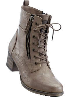 Bottines, Mustang, ocre
