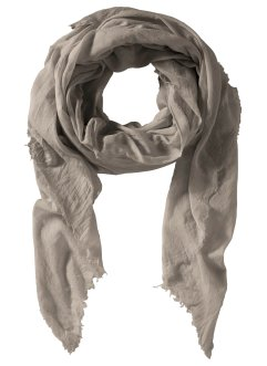 Schal unisex, bpc bonprix collection, taupe melange