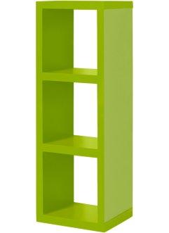 "Regal ""Kenia"" 3 Fächer, bpc living, grün"