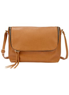 Tasche Soft Touch, bpc bonprix collection, cognac