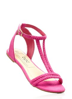 Sandale, bpc bonprix collection, fuchsia