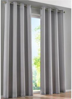 traumhafte gardinen vorh nge in grau bei bonprix. Black Bedroom Furniture Sets. Home Design Ideas
