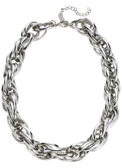 Collier, bpc bonprix collection, silberfarben