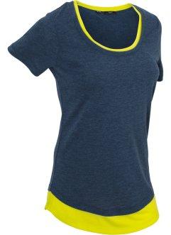 Sport-Shirt, 2 in1-Optik, kurzarm, bpc bonprix collection